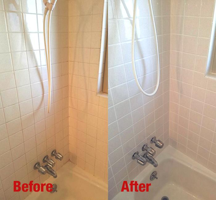 Recaulking And Caulking Services The Grout Specialist - Bathroom caulking service